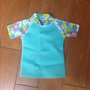Girl's Rash Guard size 4